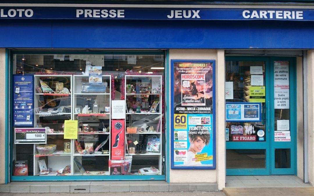 Nouveau Commerce : « PRESSE 3 GRAVILLE »