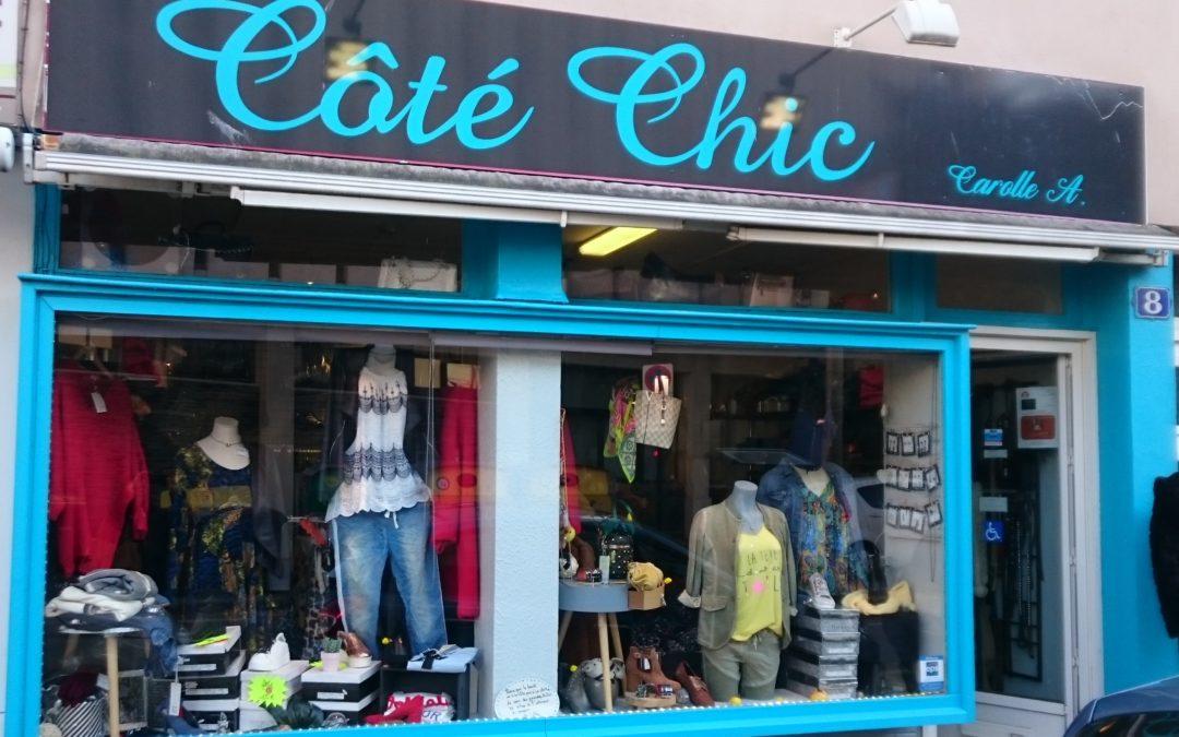 Nouveau commerce : «Côté Chic»