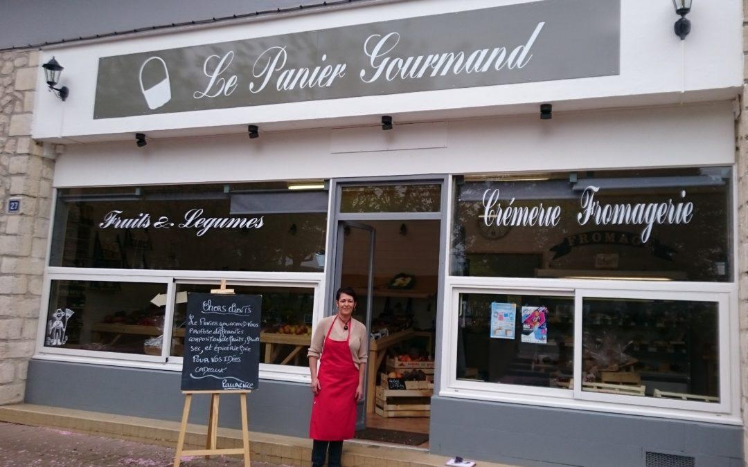 Nouveau commerçant : « LE PANIER GOURMAND »