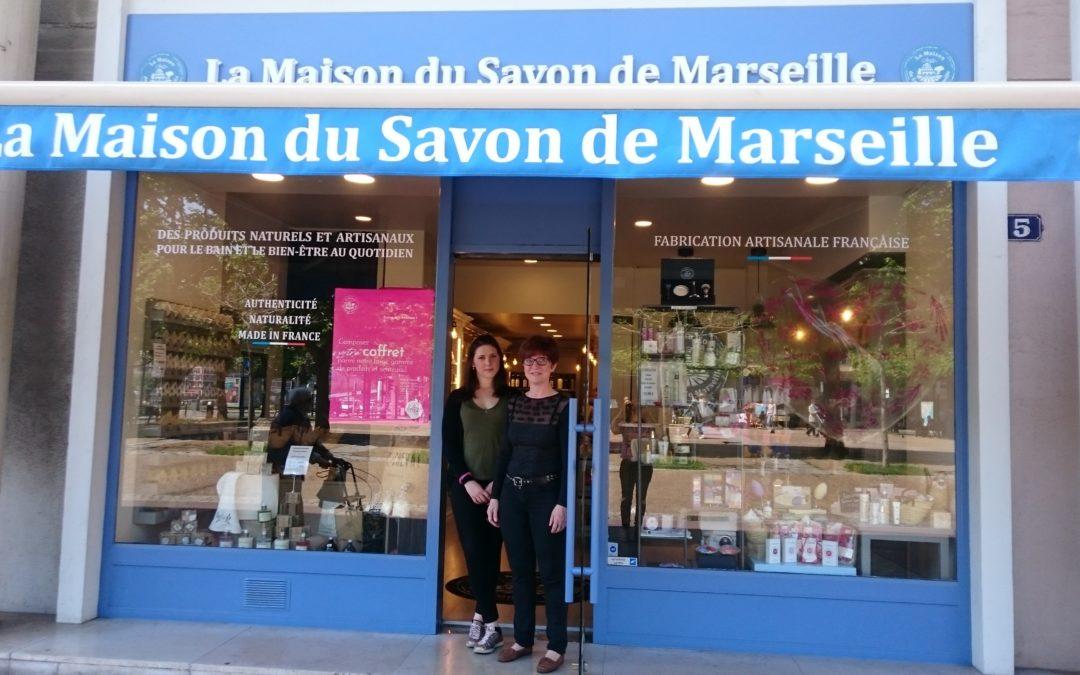Nouveau commerce : «La Maison du Savon de Marseille»