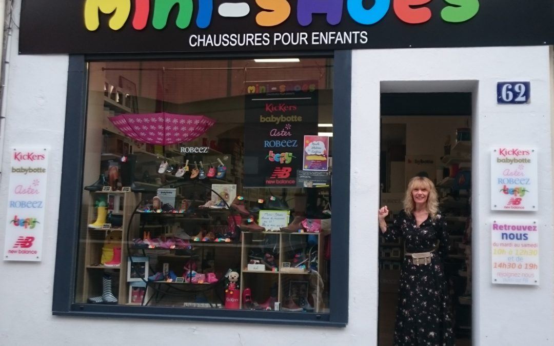 NOUVEAU COMMERCE « MINI-SHOES » !